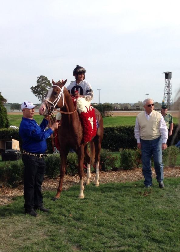 Will Take Charge Wins the Oaklawn Handicap